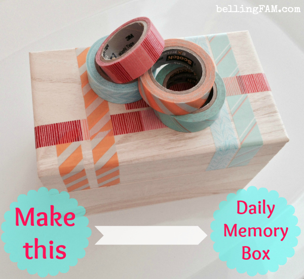 DIY Daily Memory Box