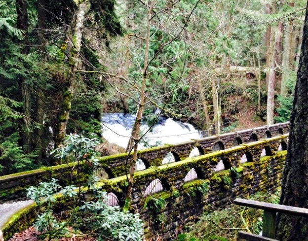 Whatcom Falls Park Bridge