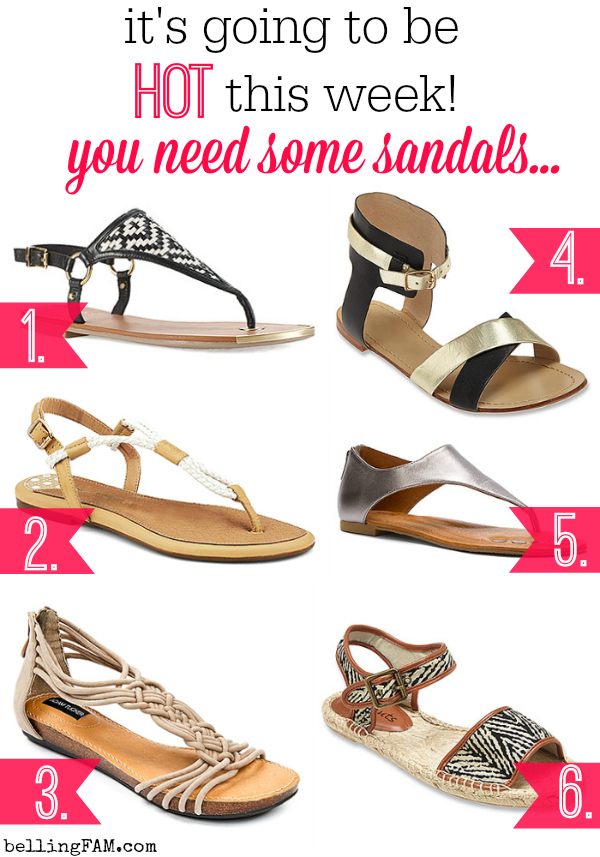 Sandals from OnlineShoes.com
