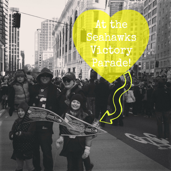 Skip Hop at Seahawks Parade
