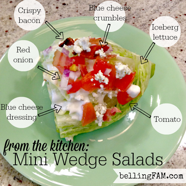 how to cut an iceberg wedge