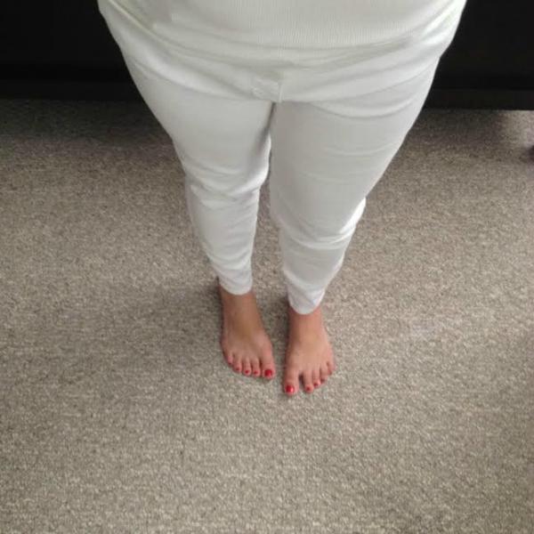 Stitch Fix White Jeans