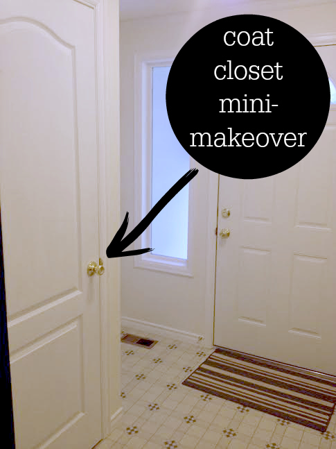Attrayant Coat Closet Makeover