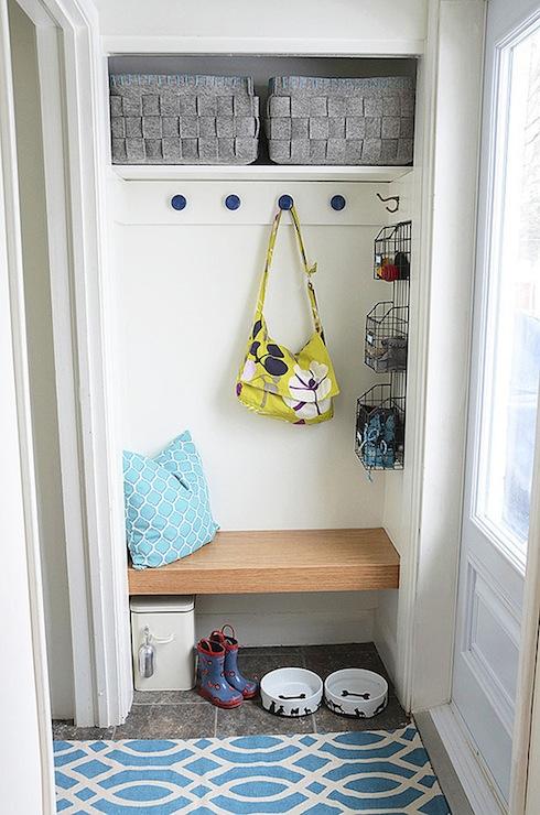 Coat Closet with Bench