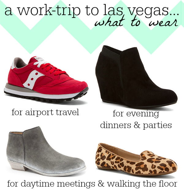 Shoes for Las Vegas