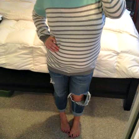 Stitch Fix Striped Sweater