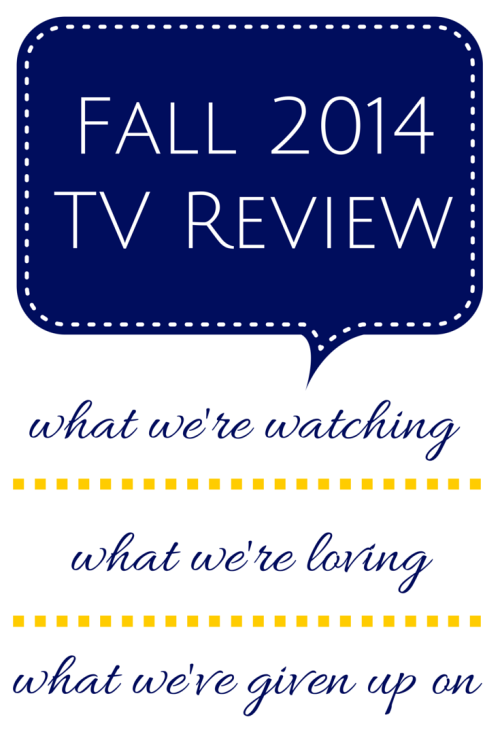 Fall 2014 TV Review