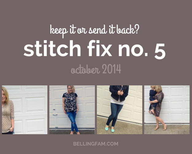 Stitch Fix No. 5