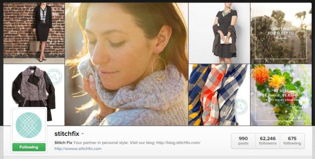 Stitch Fix Instagram