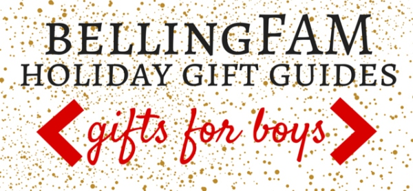 bellingFAM Gift Guide for Boys