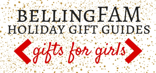 bellingFAM Gift Guide for Girls Banner