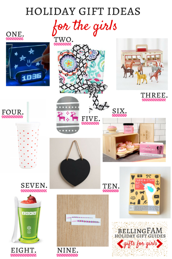 bellingFAM Gift Guide for Girls