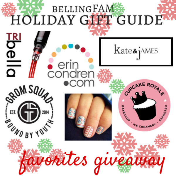 Holiday Gift Guide Favorites Giveaway