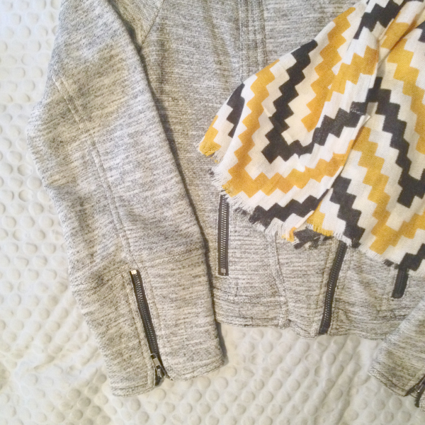 Stitch Fix Orion Zig Zag Wrap Scarf